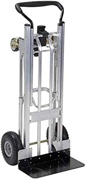 800 Lb Silver Aluminum Convertible Hand Truck By Cosco