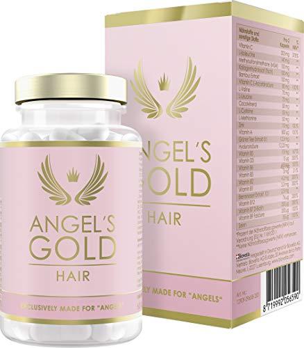Angel's Gold® Hair Haar-Vitamine für Frauen, gegen Haarausfall + mehr Haarwachstum, exklusive