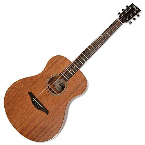 Vintage V300 - Guitarra acústica (madera de caoba)