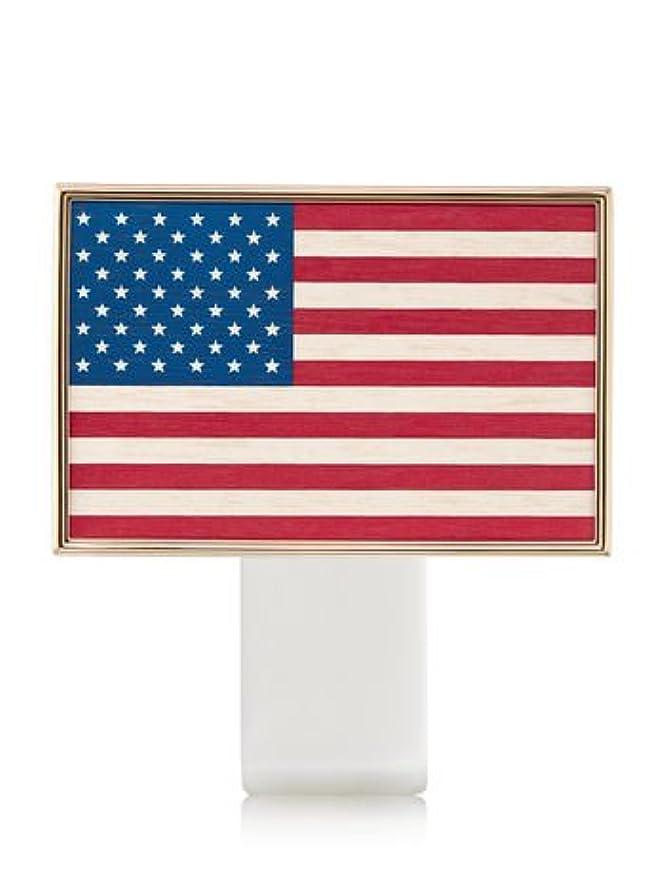 添加剤施設同盟【Bath&Body Works/バス&ボディワークス】 ルームフレグランス プラグインスターター (本体のみ) アメリカンフラッグ Wallflowers Fragrance Plug American Flag [並行輸入品]