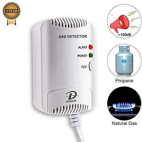 Detector de Gas, Sensor fugas de LPG/Gas Natural/gas de Carb
