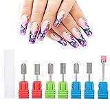Broca eléctrica, broca para uñas Radian de grabado, universal para esmalte de uñas de manicura