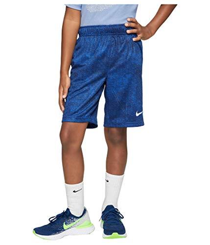 NIKE CJ7741-480 Pantalones Cortos de Baloncesto, Game Royal/Laser Blue/White, XL Boys