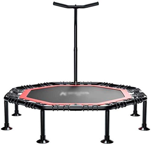Gcrzwi Sports de Plein air Bounce Lit Trampoline Fitness Rebounder intérieur for Adultes de Haute qualité élastique Corde d'aspiration Cup Exercice Entraînement Cardio Fitness Trainer Minceur