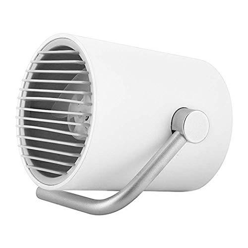 Ventilador de Sobremesa Portátil de Verano para Mesa Pequeña, con Doble Cuchillas Turbo, Pequeño Ventilador Usb Personal, Tecnología de Circulación de Aire Whisper Quiet Cyclone - para el Hogar, la