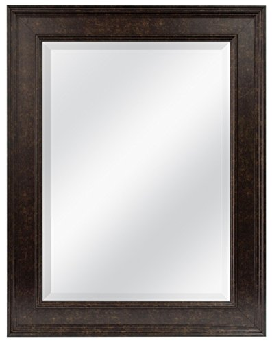 """MCS 20676 15.5"""" x 21.5"""" Wall Mirror, 21.5 by 27.5-Inch, Bronze"""