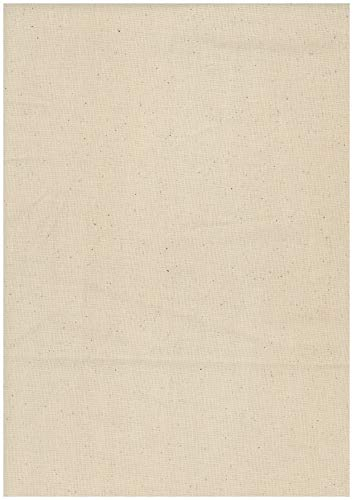 Meterware Baumwollstoff 140gr./m² 200cm breit, Baumwolle, Stoff naturbelassen roh