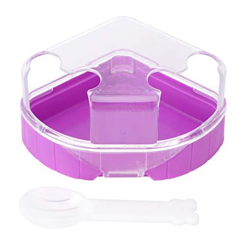 Balacoo Hamster Badezimmer Badewanne Kleine Haustier Bad Sand WC Ecktoilette Töpfchen