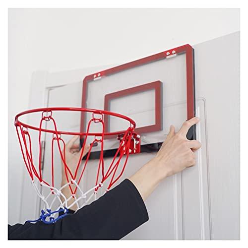 Canasta de Baloncesto Mini Aro De Baloncesto, Aro De Baloncesto De Pared Portátil, Juguetes De Entrenamiento De Tiro Interior Y Exterior para Niños Y Adolescentes