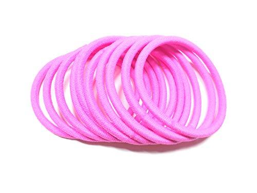 日本製ヘアゴム リングゴム10本セット カラー (ピンク)