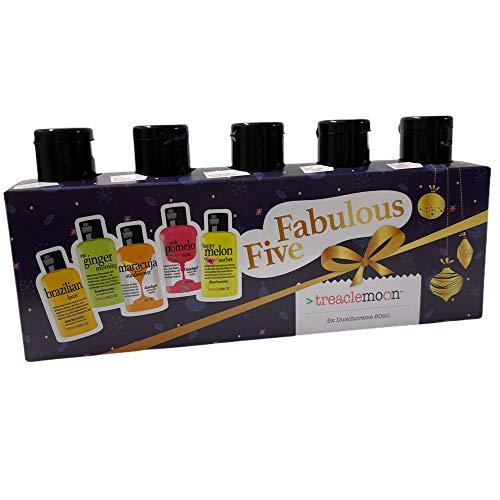 Treaclemoon Fabulous Five 2020 Duschcreme 5 x 60 ml