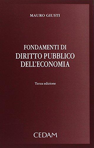 Fondamenti di diritto pubblico dell'economia