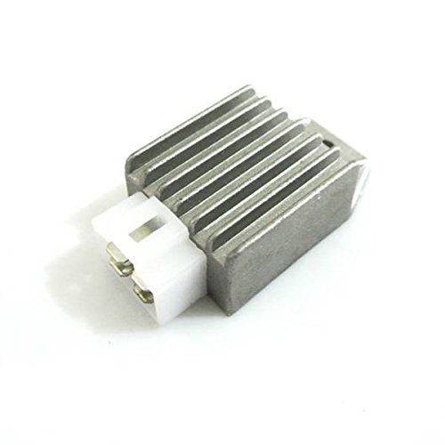 Generieke gelijkrichter, 12 V, 4 pins, geschikt voor bromfiets, scooter, ATV, buggie, TaoTao, GY6 50 cc / 150 cc.
