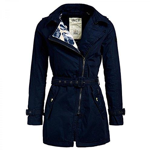 Khujo dames trenchcoat Ansonia overgangsjas korte jas