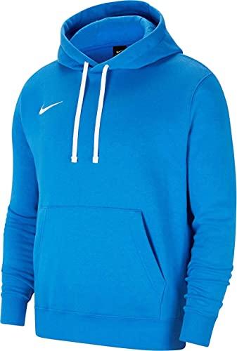 NIKE CW6896 Y NK FLC PARK20 PO Hoodie Sweatshirt Boys Royal Blue/White S