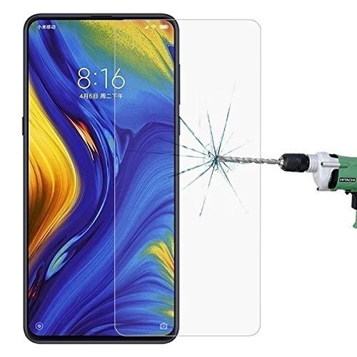 Zhouzl Pellicola in Vetro temperato per Telefono Cellular Film in Vetro temprato a Prova di Esplosione da 0,26 mm 9H 2.5D for Xiaomi Mi Mix 3 Film di Vetro temperato