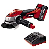 Einhell Expert Amoladora TE-AG 18/115 Li Kit Power X-Change, Li-Ion, 18 V, incluida Bater�...