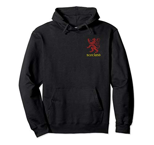 Scottish Rugby Coat of Arms Gift - Rampant Lion Scotland Pullover Hoodie