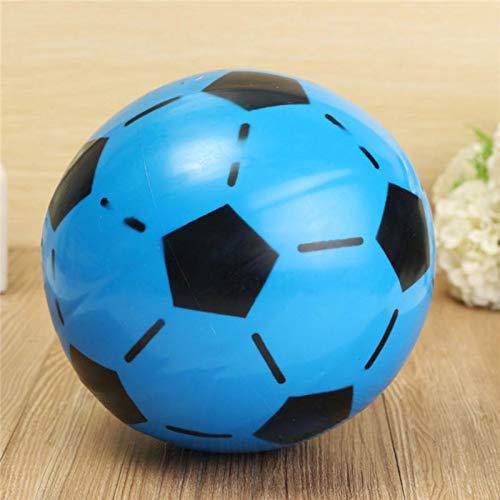PassBeauty Fútbol 15 cm Color Aleatorio PVC Fútbol Inflable Interior al Aire Libre Juguete Para Niños Juego Regalo