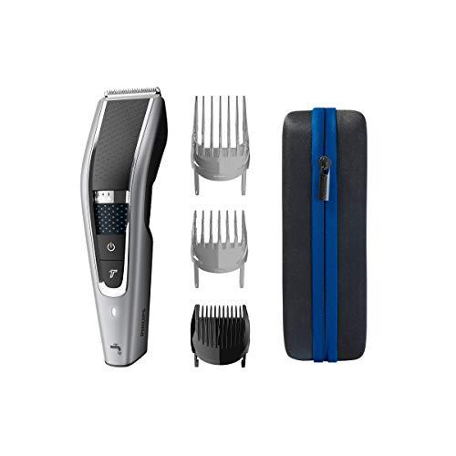 Philips Serie 5000 HC5650/15 - Cortapelos con cuchillas acero inoxidable, 28 ajustes de longitud, 90...