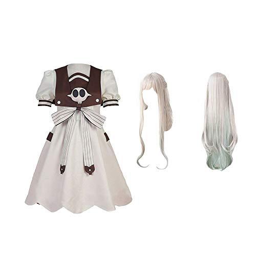 LJ123 Vestido de Nene Yashiro para Mujer y Traje de Traje de Cosplay de Yugi Amane Uniforme para Hombres, Traje de Cosplay de Toilet Bound Hanako kun