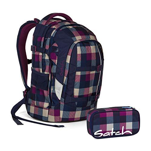 Satch Pack Berry Carry Schulrucksack Set 2tlg.