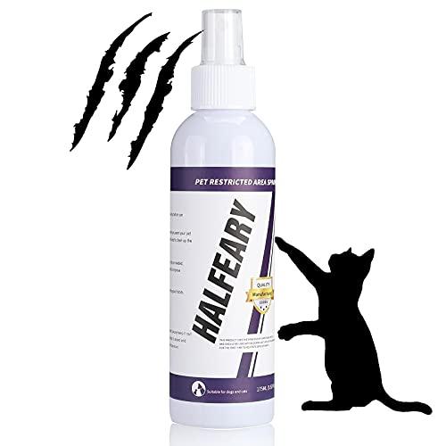 Cat Repellent Spray for Scratch - Cat Deterrent Spray Protect Our Furniture, Plants, Floor, Suit for Indoor and Outdoor, Cat Spray Deterrent for Anti...