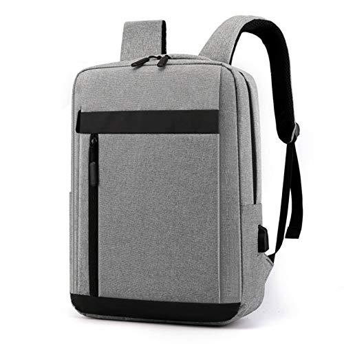 N-B Mochila USB Multifuncional Bolsa de computadora Informal de Negocios Mochila para Hombres al Aire Libre Mochila de Viaje Cómoda Resistente al Desgaste y Repelente al Agua