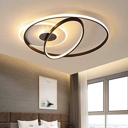 Luces de techo LED Modernas Lámpara de dormitorio Regulable Lámpara de techo Habitación de niños Lámpara de sala Lámpara de mesa de comedor Iluminación de techo, Estudio Balcón Cocina Diseño,Ø60cm