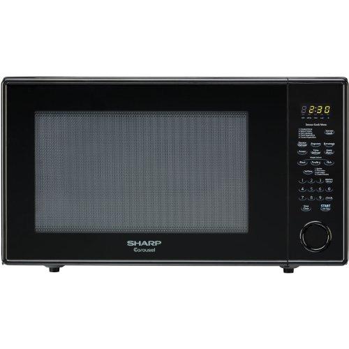 Sharp R659YK Sensor Microwave (2.2 cu.ft.), Black, Standard