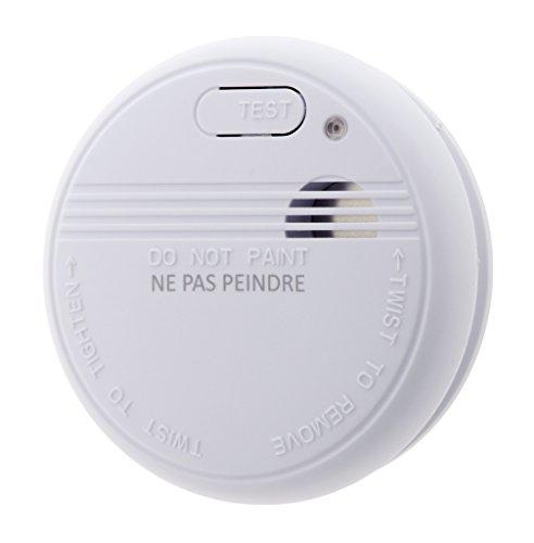 lifedom–Rauchmelder NF & en14604- Garantie 5und Lieferung mit Batterie und Zubehör (50)