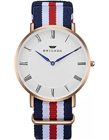 5e5fd66a628b BRIGADA スイス ブランド 時計 メンズ レディース おしゃれ 人気 腕時計 (1- ナイロン)