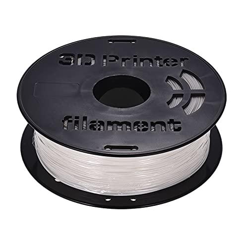 Funien Filamento de policarbonato,1KG / Spool PC Policarbonato Filamento 1.75mm Diámetro 240 Temperature Temperatura de impresión para impresoras 3D Dibujo Bolígrafos