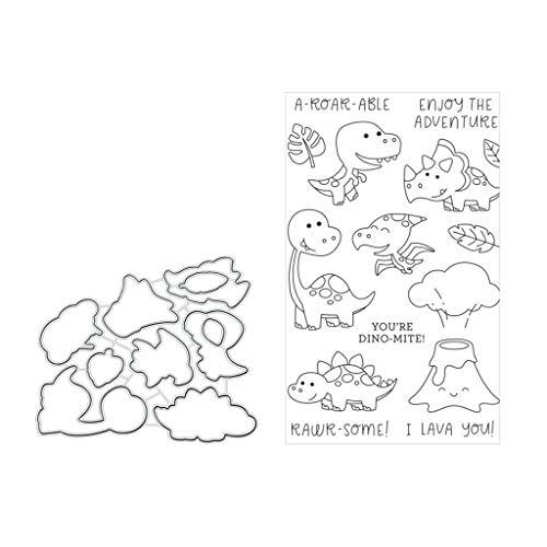 ZChun krokodil metaal stansvormen sjabloon voor doe-het-zelf scrapbooking papier kaartreliëf