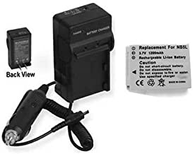 Battery + Charger for Canon Digital IXUS 850 is, Canon 860IS, Canon 870 is, Canon 90 is, Canon 950 is, Canon 900 TI