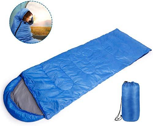INTEY Umschlag Schlafsack Ultraleicht Sleeping Bag für Camping Trekking Indoor or Outdoor Dünner Schlafsack mit Innenfutter