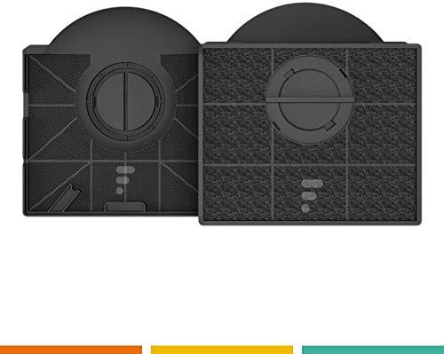 2 x Fac 23 – Kohlefilter kompatibel für Dunstabzugshaube Whirlpool Typ 303 WPRO CHF303 – Scholtes FIL15919 – Hotpoint Ariston FILK 30257 – Ikea NYTTIG FIL 558 / F00189 (x2).