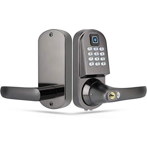 Serratura Elettrica - Serratura Smart - RFID Card Unknocking Smart Door Lock - Blocco Antifurto Digital Push Button Door Key Pad Lock