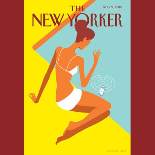 The New Yorker, August 9th 2010 (Alec Wilkinson, David Sedaris, Larry Doyle) cover art