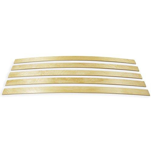 wiedergutschlafen Ersatz Federholzleisten 5-er Paket viele Längen Breite 35 mm Höhe 8 mm Lattenrost Ersatzteile (800)