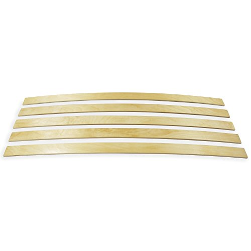 wiedergutschlafen Ersatz Federholzleisten 5-er Paket viele Längen Breite 50 mm Höhe 8 mm Lattenrost Ersatzteile (620)