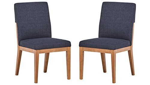 Amazon Brand – Stone & Beam Sophia Modern Accent Kitchen Dining Room Table Chairs, 36 Inch Height,...