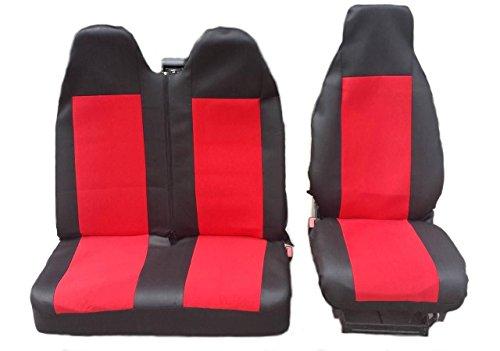 2 + 1 maat 1 zwart-rood hoes stoelbekleding stoelbekleding stoelhoezen stoelhoezen