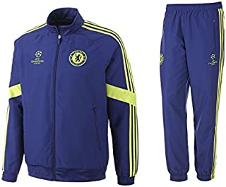 fd4bacbb0cb88 adidas Chelsea Survetement Junior 14 15 CORBLU Syello