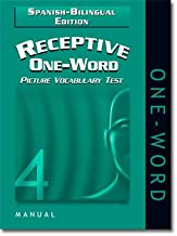 Receptive One-Word Picture Vocabulary Test 4th Edition Spanish-Bilingual Edition (ROWPVT-4: SBE)