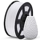 SUNLU PETG 3D Printer Filament, PETG Filament 1.75mm Dimensional Accuracy +/- 0.02 mm, 1 KG Spool, PETG White