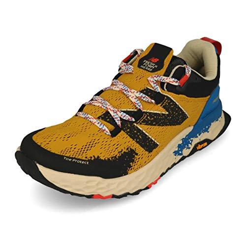New Balance Herren Hierro V5 Fresh Foam Trailrunning-Schuhe, Varsity Gold Neo Classic Blue, 40 EU