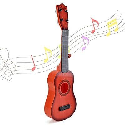 Amazon - Save 51%: Happytime 21 Inch Kids Emulational Ukulele Musical Toys Kids Ukulele with 4…