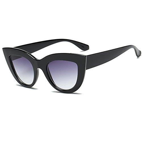 Taigood Occhiali da Sole da Donna Vintage Gatto Polarizzati Occhiali Da Sole Uomo Protezione UV Estate UV400 Occhiali
