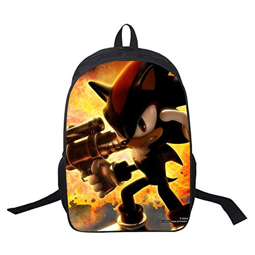 XINKANG bag Sonic Sonic Backpack School Bags Fashion Surprise Gift Bags Beautiful Students School Backpack Women Men Travel Backpack